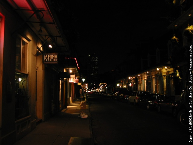 Nighttime in the Quarter